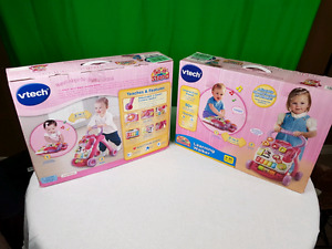 NEW - VTECH sit-to-stand LEARNING WALKERS