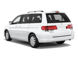 2010 Honda Odyssey EX-L or Touring in White
