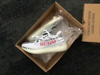 YEEZY BOOST Brand New in the box black and white 'zebra' colour