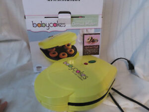 Baby Cakes Donut cooker