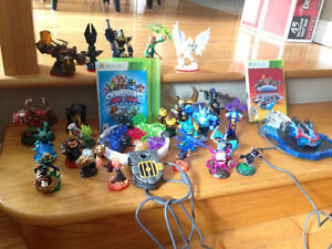 Skylanders Superchargers and Trap team