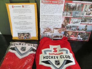 Hockey Club Red Long Sleeved Shirts for Charity