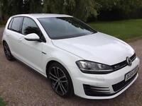 2014 64 Volkswagen Golf 2.0TDI ( 184ps ) 2014MY GTD 5dr Diesel White