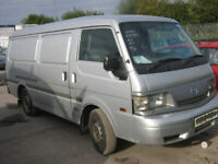 wanted Mazda e2000 van e2200 twin side doors.petrol diesel any year cash waiting