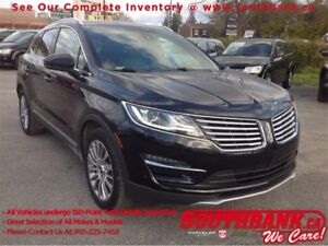 2015 Lincoln MKC AWD, Ventilated and Heated Seats, NAV