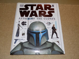 STAR WARS ATTACK OF THE CLONES THE VISUAL DICTIONARY, 2002 BOOK