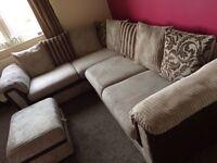 Corner sofa DFS rrp £1200