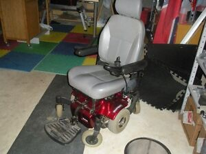 electric powered wheel chair