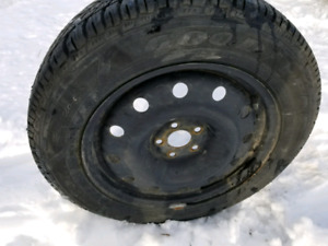 205 60r16 Good Year winter tires off 2005 Seabring