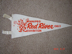Four vintage collectable pennants London Ontario image 2