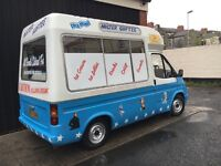 Ford Transit Soft Ice Cream Van Carpigiani Icecream Machine - Full Cowl
