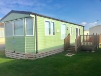 Static caravan for sale in Morecambe decking inc 12 month 5 star park not haven not regent