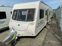 Bailey Ranger 540/6 Triple Bunk Bed Caravan