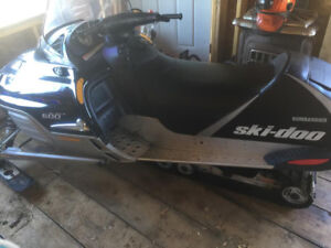 2002 Skidoo Legend 600!! Fresh tune up!!!