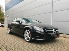 2011 11 reg Mercedes-Benz CLS350 3.0 CDI BF 7G-Tronic Plus Sport AMG Coupe Black