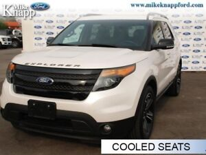 2015 Ford Explorer Sport  - Leather Seats -  Bluetooth -  Cooled