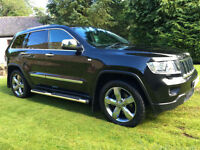 STUNNING 2013 JEEP GRAND CHEROKEE OVERLAND HUGE SPEC EVERY OPTION 3.0CRD V6