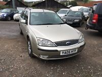 2005 Ford Mondeo Ghina TDCi Diesel Estate Px welcome