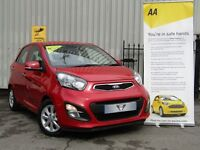 Kia Picanto 1.25 2 ECODYNAMICS (red) 2014