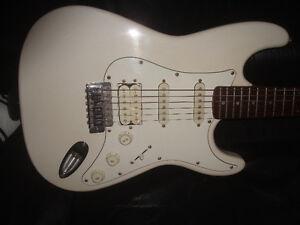 vintage awesome  samick strat electric guitar $300.00...obo