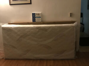 Bed Frame and Mattress for Sale