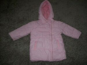 Pink Winter Jacket Size 3