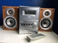JVC DVD Hi-Fi model ux-p550