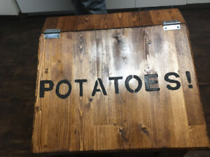 Potatoe storage box