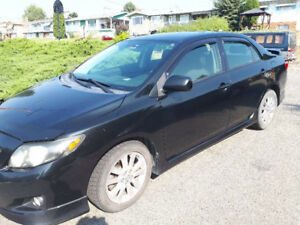 2009 Toyota Corolla S Sedan: REDUCED
