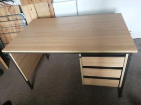 3 drawer desk