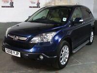 2008 '08' HONDA CR-V 2.0 i-VTEC EXECUTIVE ESTATE 4x4 4WD * SAT.NAV * Rev.Cam *