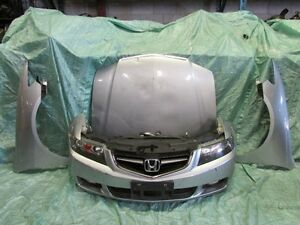 JDM Honda Accord CL7 Acura TSX Front End Bumper Fender Headlight