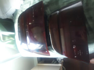 BMW tail lights ( smoked ) looks really good ... complete set