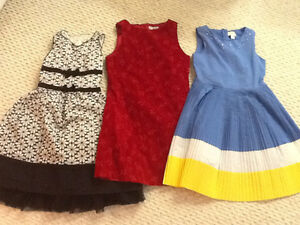 Lot of girls size 10 dresses