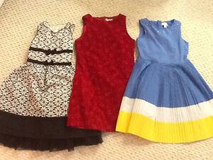 Lot of girls size 10 dresses