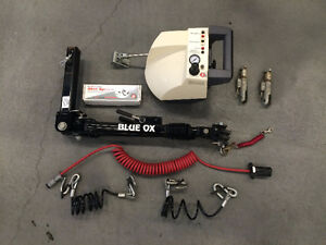 Blue Ox Tow Bar and BrakeBuddy Classic Boost and Alert System