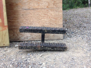 """trailer hitch stairs/double step, 1 1/2"""""""