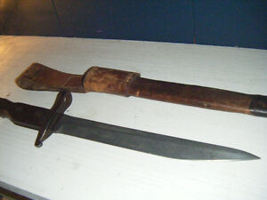 WWI Ross Bayonet Military Canadian