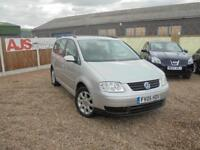+++NOW SOLD+++ 2005 05 Volkswagen Touran 1.9TDI SE 7 SEATER 1 OWNER FROM NEW