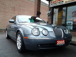 2005 Jaguar S-TYPE AUTO,AIR,LEATHER,SUNROOF,NO ACCIDENT.$6899