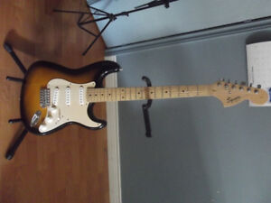 Squire Stratocaster 6 string guitar