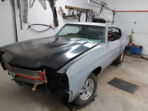 1970 chevelle project
