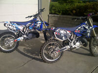 His and Hers Yamaha YZ's for Sale