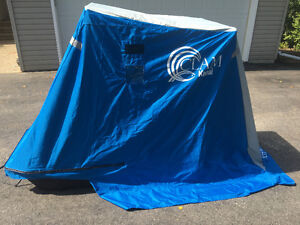 CLAM PORTABLE ONE MAN ICE FISHING SHELTER