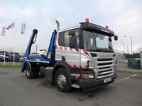 2011 (61) Scania P230 HYVA TELESCOPIC SKIP LOADER