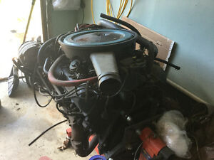 Olds 350. Motor and 400 turbo hydramatic tranny