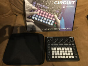 Novation Circuit Synth and Groovebox with hardcase