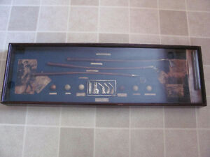 Vintage golf display case 42 inches long x 12 inches wide $58