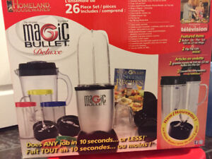 Complete Magic Bullet Deluxe Set plus Extras