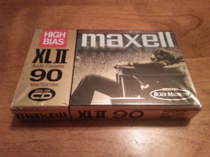 Maxell XLII 90 High Bias audio cassette